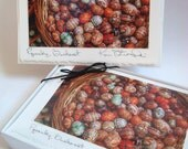 Easter - Pysanky, Bucharest Note Set - Box of 10 Blank Handmade Greeting Cards