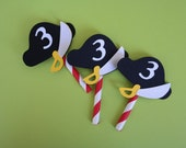 Pirate Cupcake Toppers, Pirate Party, Pirate Birthday, Jake and the Neverland Pirates