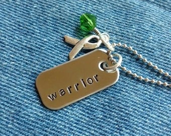 Lyme Warrior Survivor Necklace