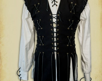 Knight Jacket medieval clothing for men LARP costume and cosplay