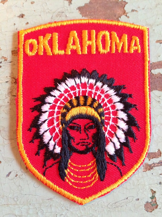 Oklahoma Vintage Travel Patch by Voyager