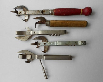 Antique Can and Bottle Openers