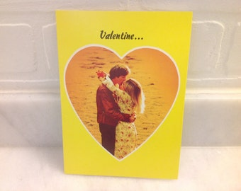 1970s Boho Lovers Valentine's Day Card