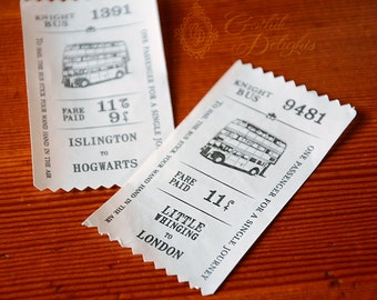 Knight Bus Ticket - various route