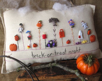 trick-or-treat night (cottage style)