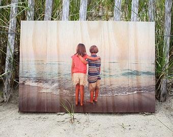 """18.5"""" x 27.5"""" Custom Photo Printed on Sustainable Wood"""