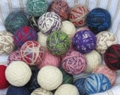3 XL Wool Dryer Balls 3 for 14.50  Natural Fabric Softener Eco-Friendly RRR Felted Wool Green Laundry Unscented