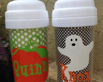 Halloween Personalized Toddler Sippy Cup
