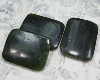 BC Jade, 39 mm by 30 mm Bead - Item 981