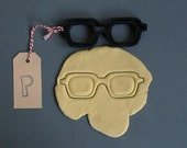 Pair of glasses cookie cutter, 3D printed