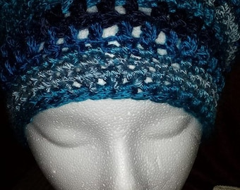 Blues Slouchy Hat