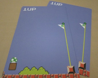 Mario - 1 UP Writing Sheets