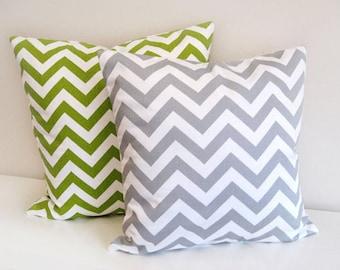 Chevron Pillow Cover , Pillow , Nursery Decor, Chevron Home Decor