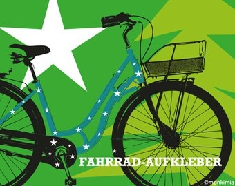 Stickers for your bicycle - stars