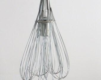 Whisks lamp whisks pendant repurposed light upcycled, repurposed suspension light lamp, upcycled ceiling lamp, pendant lamp