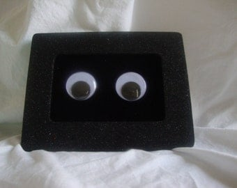 Hand painted Googly Eyes picture frame.
