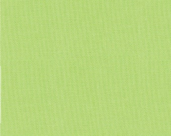 1/2 Yard - Bella Solid Lime Green Fabric - 9900 75