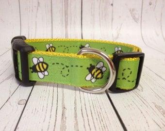 Bumble Bee Dog Collar