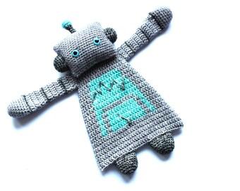 Robot Ragdoll crochet amigurumi pattern PDF INSTANT DOWNLOAD