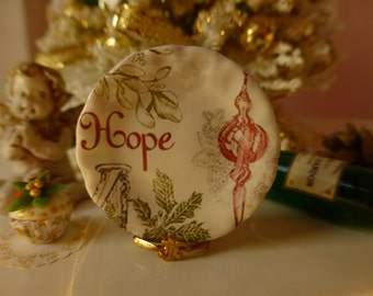 Christmas Dollhouse Miniature Pkate