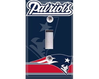 New England Patriots Light Switch Cover