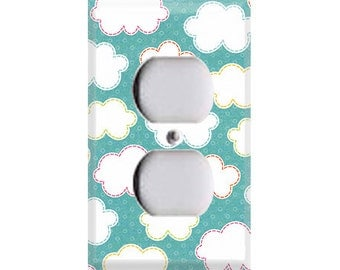 Hootenanny Collection - Clouds Outlet Cover