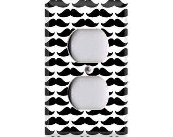 Mustaches Outlet Cover