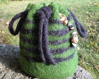 Large Felted Tote