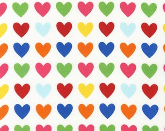 LAST FAT QUARTER  - Remix Hearts by Ann Kelle for Robert Kaufman