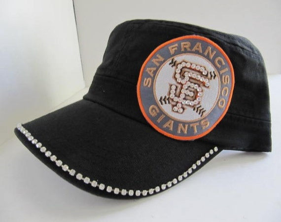 trucker hat giants hat bling hat womens hat giants logo