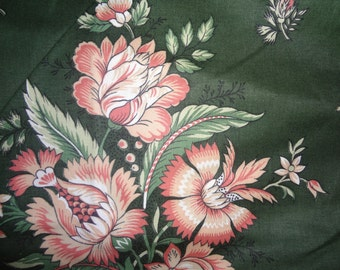 "56 X 54 Waverly Fabric ""Haddam Stripe"" Precut New Old Stock 111"