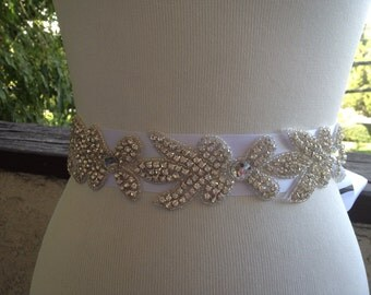 Sale,Bridal Sash,Wedding Sash Belt, Best Seller Bridal,Rhinestone Sash
