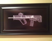 TAVOR   CAT scan gun print - r...