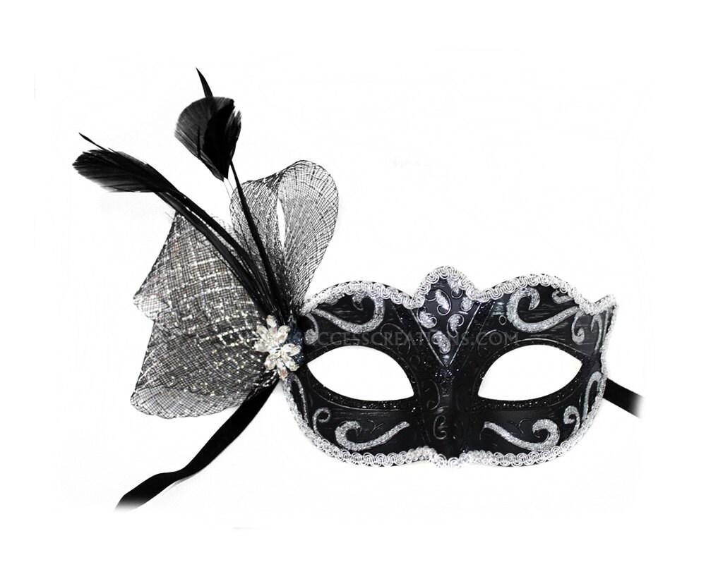 Black And White Masquerade Ball Masks Masquerade Ball Mask