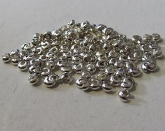D-03335 - 25 Crimp beads 3mm nickel free