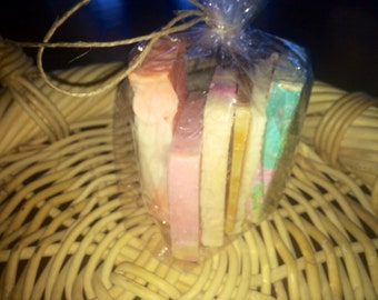Try A Bunch ( 1/2 Pound ) Different soaps to try