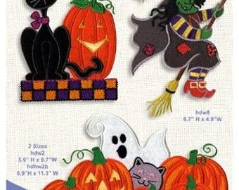 Anita Goodesign Halloween  Embroidery Design CD