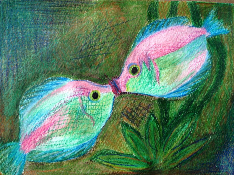 Freshwater fish art -  Zoom