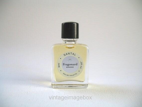 fragonard santal vintage mini fragrance for men and women. Black Bedroom Furniture Sets. Home Design Ideas