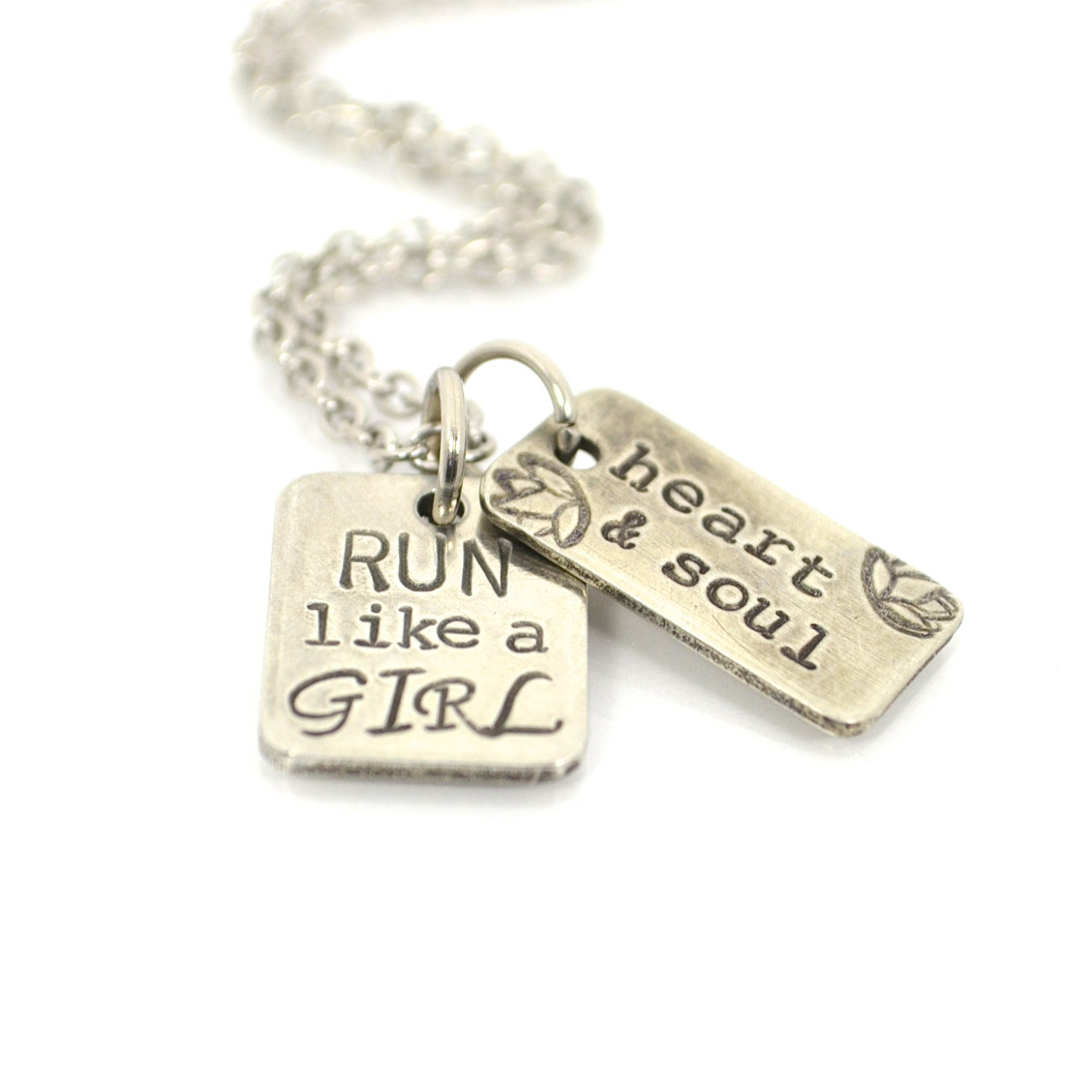 running charm necklace run like a run charm necklace