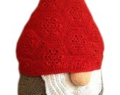 Crochet Pattern - Christmas African Flower Santa Claus - Nisse the gnome