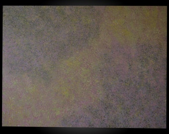 "Flight:Original Abstract Acrylic Painting on canvas.  Size 24""x48""  Colors-pink, purple, yellow, green, ivory, brown."