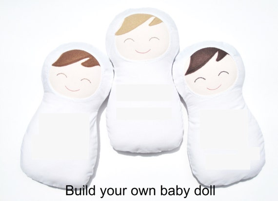 Build Your Own Baby Doll Create Your Own By Designsbymsusan