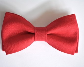 Red Bow Tie,kids bow tie, red bow tie for men, red bow tie for boys, Valentines day bow tie
