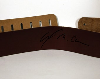 Custom Guitar straps. Personalized Guitar Straps, Guitar Straps, custom leather guitar straps, Brown colour