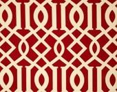 Fabric by the Yard  Richloom Solarium Outdoor Kirkwood Cheery