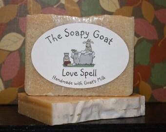 Goat's Milk Soap 3 oz. -- Love Spell
