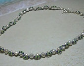 Seattle Seahawks Fresh Water Pearl Beaded Necklace Toggle Clasp