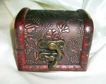 Hand-Made Wooden or Bamboo Boxes for Wicca Pagan Jewelry or Altar Supplies
