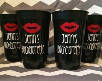 Bachelorette Party Set of 4 Cups